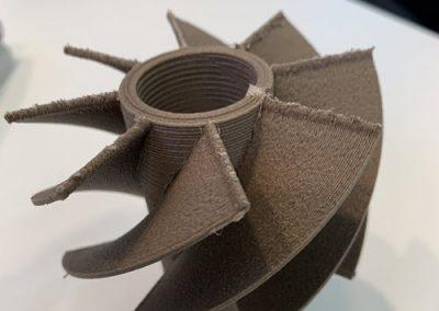 Drucken von Simultanteilen ohne Stützmaterial